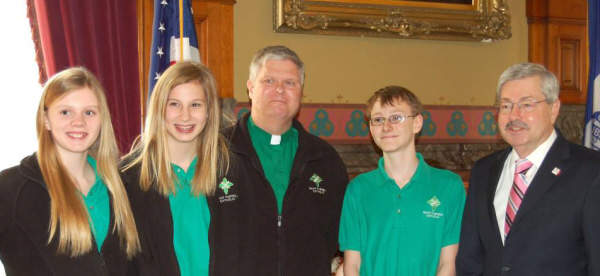 Catholic Schools Week 2014 - STCS at the Capitol