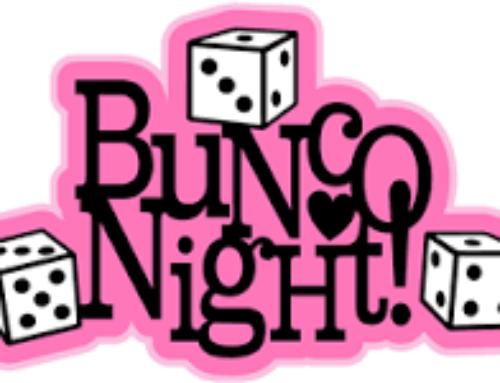 BUNCO NIGHT THURSDAY